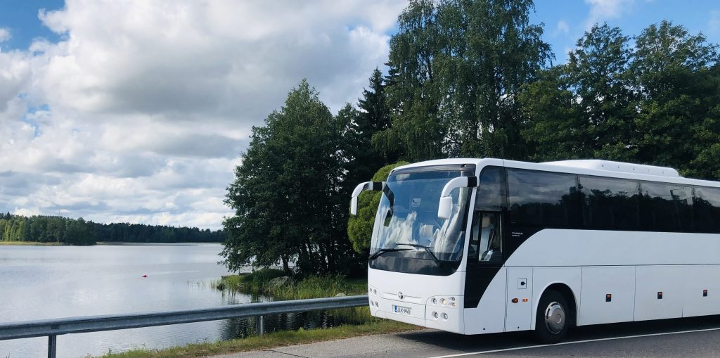 coach hire Finland